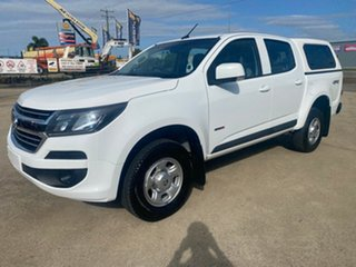 2018 Holden Colorado RG MY18 LS Pickup Crew Cab White/280218 6 Speed Sports Automatic Utility