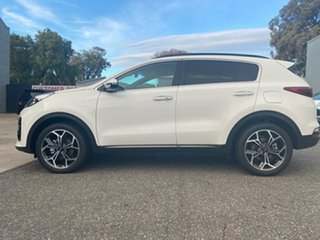 2021 Kia Sportage QL MY21 GT-Line AWD Clear White 8 Speed Sports Automatic Wagon.