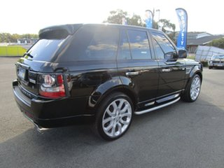 2011 Land Rover Range Rover Sport L320 11MY TDV6 Autobiography Black 6 Speed Sports Automatic Wagon