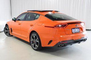 2019 Kia Stinger CK MY20 GT Fastback Carbon Edition Orange 8 Speed Sports Automatic Sedan.
