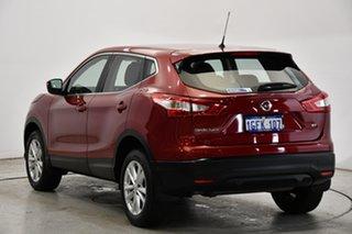 2016 Nissan Qashqai J11 ST Burgundy 1 Speed Constant Variable Wagon