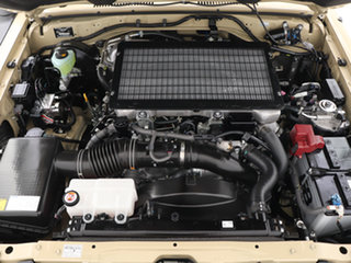 2021 Toyota Landcruiser 70 Series VDJ78R GXL Troop Carrier Sandy Taupe 5 Speed Manual Wagon