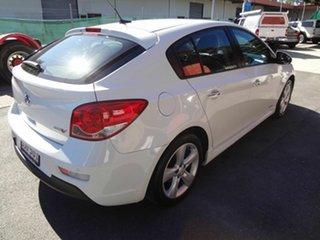 2012 Holden Cruze JH MY13 SRi V White 6 Speed Automatic Hatchback.
