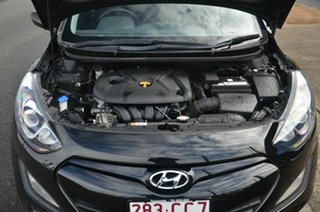 2012 Hyundai i30 GD Active Black 6 Speed Automatic Hatchback