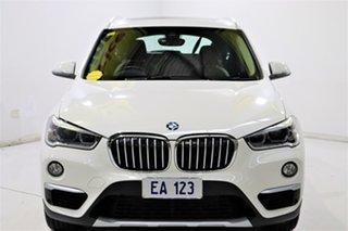 2018 BMW X1 F48 xDrive25i Steptronic AWD White 8 Speed Sports Automatic Wagon.