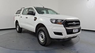 2016 Ford Ranger PX MkII XL 2.2 Hi-Rider (4x2) White 6 Speed Automatic Crew Cab Pickup.