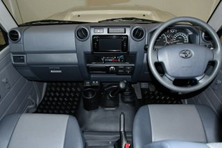 2021 Toyota Landcruiser VDJ76R Workmate Silver 5 Speed Manual Wagon