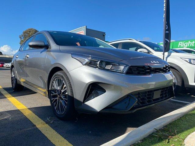 New Kia Cerato BD MY22 Sport+ Cheltenham, 2021 Kia Cerato BD MY22 Sport+ Steel Grey 6 Speed Sports Automatic Hatchback