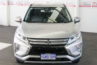2018 Mitsubishi Eclipse Cross YA MY18 LS (2WD) Sterling Silver Continuous Variable Wagon.