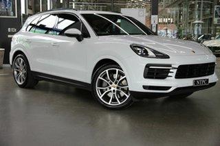 2018 Porsche Cayenne 9YA MY19 S Tiptronic White 8 Speed Sports Automatic Wagon.