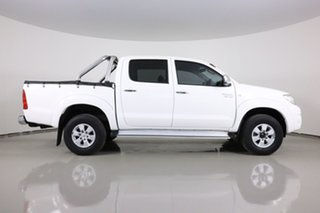 2011 Toyota Hilux GGN25R MY11 Upgrade SR5 (4x4) White 5 Speed Automatic Dual Cab Pick-up