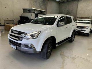 2019 Isuzu MU-X MY19 LS-U Rev-Tronic White 6 Speed Sports Automatic Wagon.