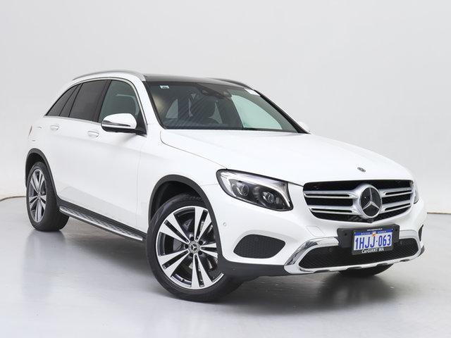 Used Mercedes-Benz GLC250 253 MY18 , 2018 Mercedes-Benz GLC250 253 MY18 White 9 Speed Automatic Wagon
