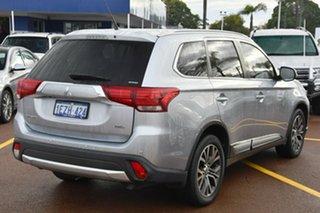2016 Mitsubishi Outlander ZK MY16 XLS 4WD Silver 6 Speed Sports Automatic Wagon