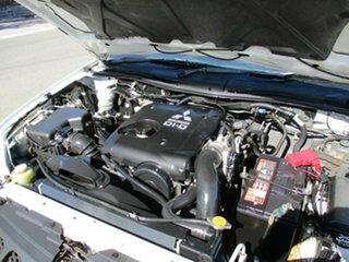 2008 Mitsubishi Triton ML MY09 GLX 4x2 White 5 Speed Manual Cab Chassis