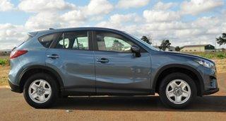 2015 Mazda CX-5 MY15 Maxx (4x2) Blue 6 Speed Automatic Wagon.