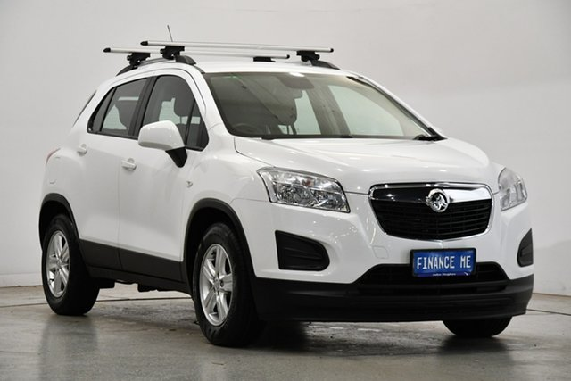 Used Holden Trax TJ MY16 LS Victoria Park, 2015 Holden Trax TJ MY16 LS White 6 Speed Automatic Wagon