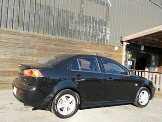 2008 Mitsubishi Lancer CJ MY08 VR Black 6 Speed Constant Variable Sedan