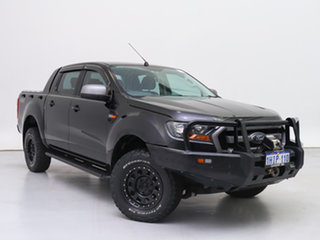 2016 Ford Ranger PX MkII MY17 XLS 3.2 (4x4) Black 6 Speed Automatic Double Cab Pick Up.