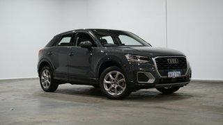 2018 Audi Q2 GA MY18 design S Tronic Grey 7 Speed Sports Automatic Dual Clutch Wagon.