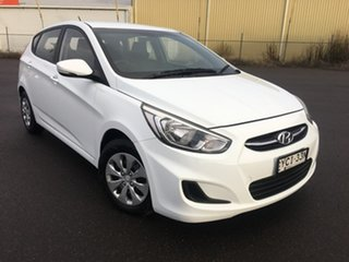 2015 Hyundai Accent RB3 Active White Constant Variable.