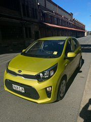 2021 Kia Picanto JA MY21 S Lime Green 4 Speed Automatic Hatchback