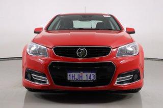 2013 Holden Commodore VF SS-V Redline Red 6 Speed Automatic Sedan.