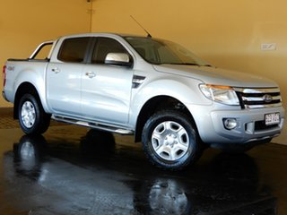2014 Ford Ranger PX XLT 3.2 (4x4) Silver 6 Speed Automatic Double Cab Pick Up