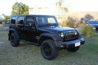 2011 Jeep Wrangler JK MY2010 Unlimited Sport Black 6 Speed Manual Softtop