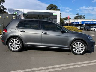 2018 Volkswagen Golf 7.5 MY19 110TSI DSG Comfortline Grey 7 Speed Sports Automatic Dual Clutch.