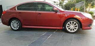 2012 Subaru Liberty MY12 2.5I Red Continuous Variable Sedan