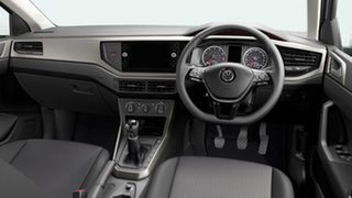 2021 Volkswagen Polo Style Pure White 7 Speed Semi Auto Hatchback