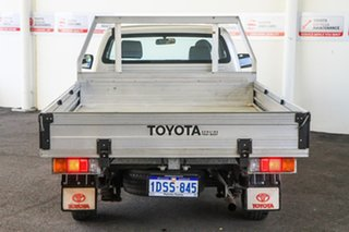 2011 Toyota Hilux TGN16R MY12 Workmate Sterling Silver 4 Speed Automatic Cab Chassis