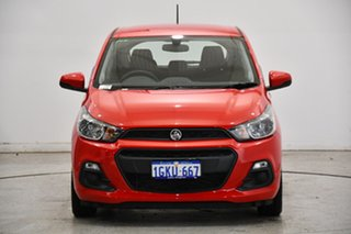 2017 Holden Spark MP MY18 LS Red 1 Speed Constant Variable Hatchback.