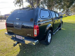 2007 Nissan Navara D40 ST-X Black 6 Speed Manual Utility