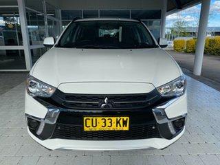 2019 Mitsubishi ASX ES White Constant Variable Wagon.