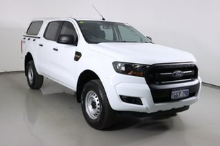 2017 Ford Ranger PX MkII MY17 XL 2.2 (4x4) White 6 Speed Automatic Crew Cab Utility.
