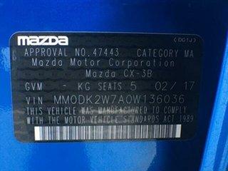 2017 Mazda CX-3 DK2W7A Maxx SKYACTIV-Drive Dynamic Blue 6 Speed Sports Automatic Wagon