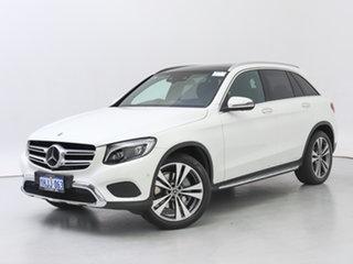 2018 Mercedes-Benz GLC250 253 MY18 White 9 Speed Automatic Wagon.