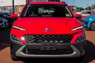 2021 Hyundai Kona Os.v4 MY21 2WD Red 8 Speed Constant Variable Wagon.