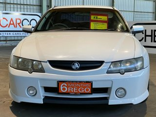 2002 Holden Commodore VY SS White 4 Speed Automatic Sedan