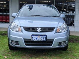 2011 Suzuki SX4 GYA MY11 S Blue 6 Speed Constant Variable Hatchback.