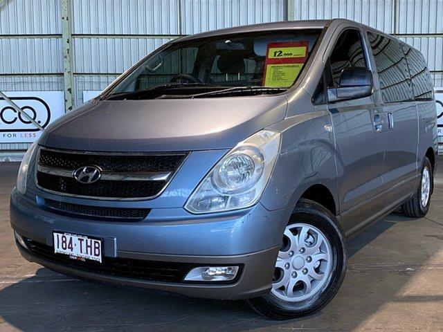 Used Hyundai iMAX TQ-W Rocklea, 2008 Hyundai iMAX TQ-W Blue 4 Speed Automatic Wagon