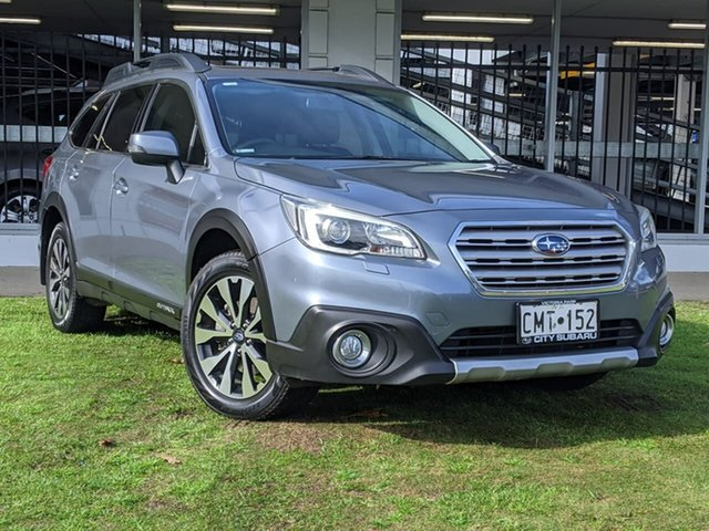 Used Subaru Outback B6A MY16 2.0D CVT AWD Premium Victoria Park, 2015 Subaru Outback B6A MY16 2.0D CVT AWD Premium Grey 7 Speed Constant Variable Wagon
