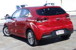 2017 Kia Rio YB MY17 SLi Red 4 Speed Sports Automatic Hatchback.
