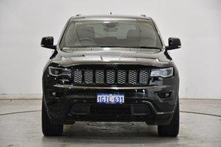 2017 Jeep Grand Cherokee WK MY17 Blackhawk Black 8 Speed Sports Automatic Wagon.