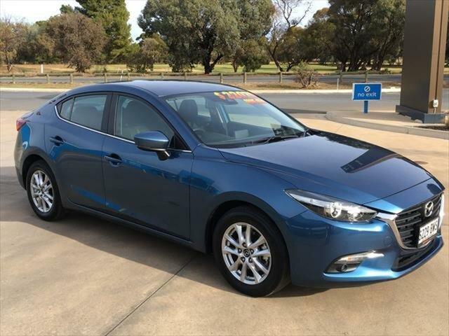 Used Mazda 3 BN5278 Maxx SKYACTIV-Drive Sport Berri, 2018 Mazda 3 BN5278 Maxx SKYACTIV-Drive Sport Eternal Blue 6 Speed Sports Automatic Sedan