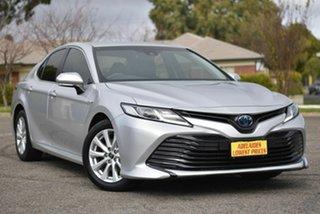 2018 Toyota Camry AXVH71R Ascent Silver 6 Speed Constant Variable Sedan Hybrid.