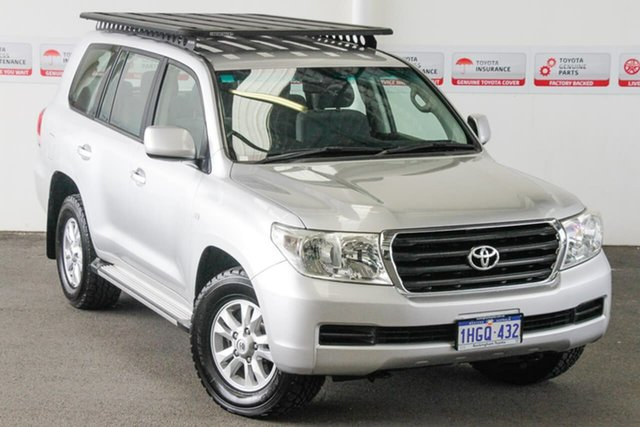 Pre-Owned Toyota Landcruiser VDJ200R 09 Upgrade GXL (4x4) Rockingham, 2011 Toyota Landcruiser VDJ200R 09 Upgrade GXL (4x4) Silver Pearl 6 Speed Automatic Wagon