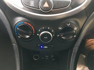2015 Hyundai Accent RB3 Active White Constant Variable